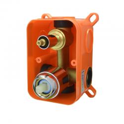 MEREO - Mbox dvojcestné podomietkové teleso s keramickým prepínačom (CBE60101AB)