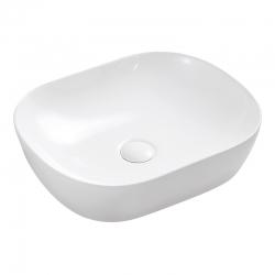 MEREO - Umývadlo na dosku bez prepadu, 465x375x115 mm, okrúhle, keramické (UC473812O)