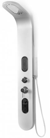 REA - Sprchový panel 9790 strieborný (REA-P0603)