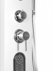 REA - Sprchový panel 9790 strieborný (REA-P0603), fotografie 10/6