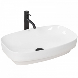 REA - Umývadlo na dosku Gizel 60x39 biela (REA-U9605)