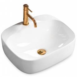 REA - Umývadlo na dosku Luiza 50x42 biele (REA-U9603)