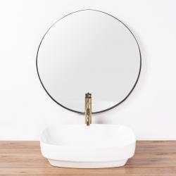 REA - Umývadlo na dosku Gizel 50x39 biela (REA-U9604), fotografie 4/6