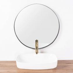 REA - Umývadlo na dosku Gizel 50x39 biela (REA-U9604), fotografie 6/6