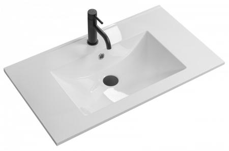 REA - Zápustné umývadlo Niva 60,5x46 biela (REA-U8904)