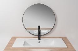 REA - Zápustné umývadlo Niva 60,5x46 biela (REA-U8904), fotografie 2/4