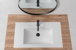 REA - Zápustné umývadlo Niva 60,5x46 biela (REA-U8904), fotografie 6/4