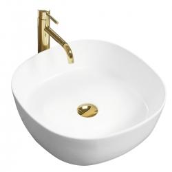 REA - Umývadlo na dosku Elena 44x44 biela (REA-U7911)