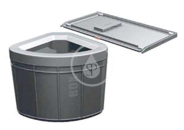 FRANKE - Sortery Vstavaný odpadkový kôš Solo 60, čierna 121.0307.572