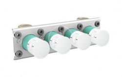 AXOR - Montážní tělesa Základné teleso na termostat na 3 spotrebiče (45443180)