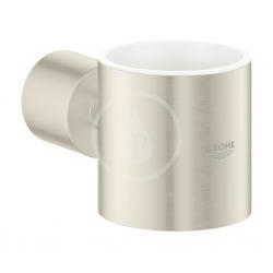GROHE - Atrio Držiak pohárika/mydlovničky, kefovaný nikel (40304EN3)