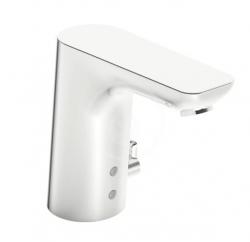HANSA - Ligna Elektronická umývadlová batéria so sieťovým napájaním, Bluetooth, chróm (06142209)