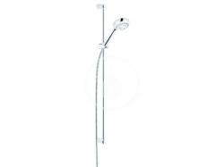 KLUDI - Logo Set sprchovej hlavice, držiaku, tyče a hadice, chróm (6839305-00)