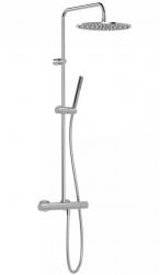 TRES - Súprava termostatické sprchové batérie, pevná sprcha priemer 300 mm. s kĺbom (26238701)