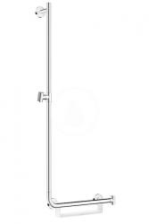 HANSGROHE - Unica Sprchová tyč 1100 mm, ľavá, biela/chróm (26403400)