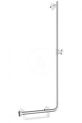 HANSGROHE - Unica Sprchová tyč 1100 mm, pravá, biela/chróm (26404400)