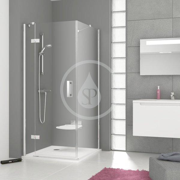 RAVAK - SmartLine Sprchová stěna SMPS-100 L, 985-1000 mm, levá, chrom/čiré sklo (9SLA0A00Z1)