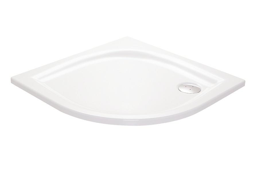 RAVAK - Galaxy Sprchová vanička Elipso PAN, 1000x1000 mm, AntiBac, bílá (A22AA01410)