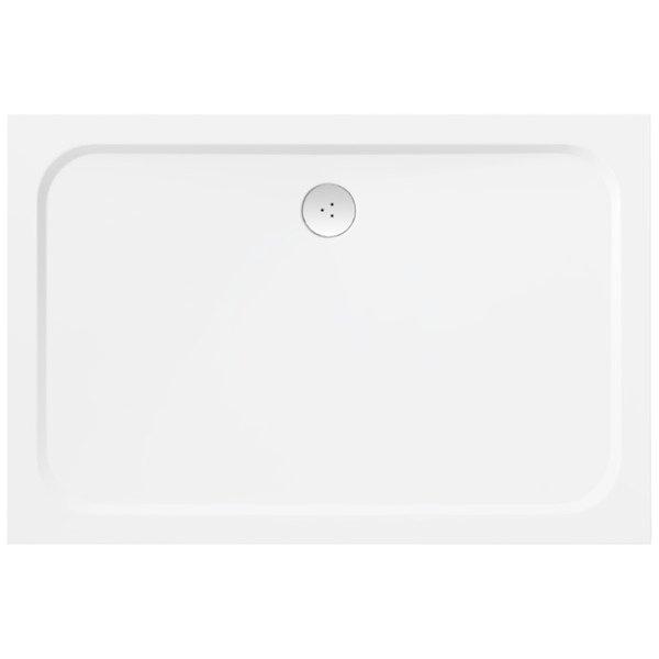 RAVAK - Galaxy Pro Chrome Sprchová vanička Gigant Pro-100 Chrome, 1200x900 mm, bílá (XA04G701010)