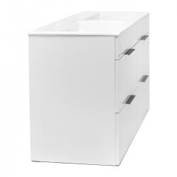 JIKA - Cube Skrinka so 4 zásuvkami, 1200x430 mm – farba biela/antibakteriálna (H4536621763001), fotografie 10/11