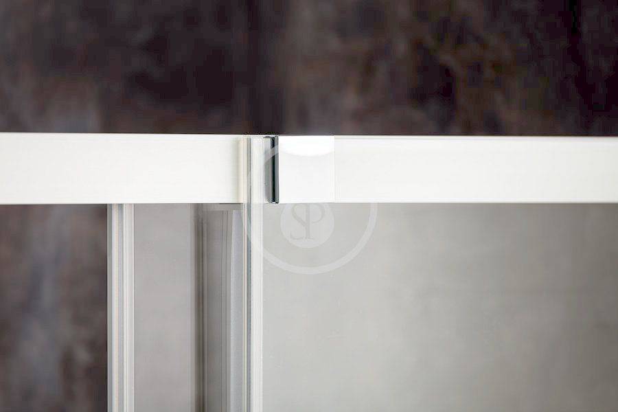 RAVAK - Matrix Sprchové dvere posuvné MSD4-200, štvordielne, 1985-2015 mm, farba biela/sklo transparent (0WKK0100Z1)