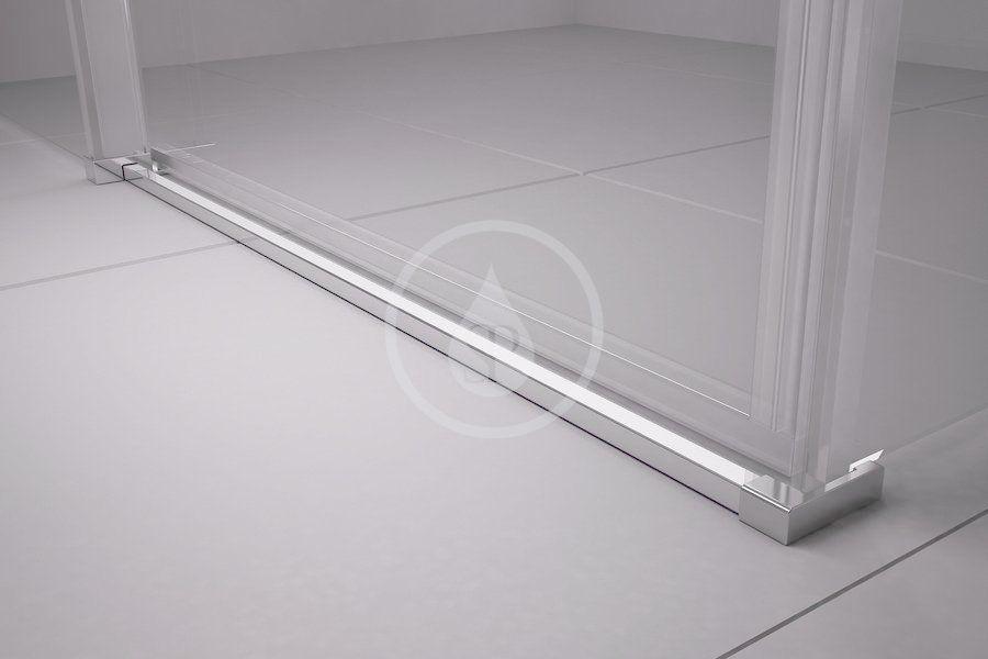 RAVAK - Matrix Sprchové dvere posuvné MSD4-140, štvordielne, 1375-1415 mm, lesklý hliník/sklo transparent (0WKM0C00Z1)