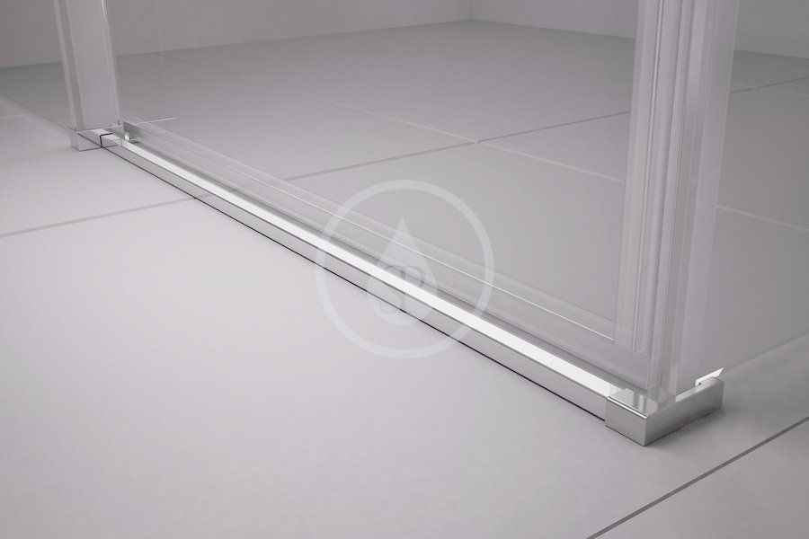 RAVAK - Matrix Sprchové dvere posuvné MSD4-160, štvordielne, 1575-1615 mm, lesklý hliník/sklo transparent (0WKS0C00Z1)