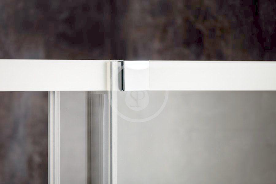 RAVAK - Matrix Sprchové dvere posuvné MSD4-180, štvordielne, 1775-1815 mm, farba biela/sklo transparent (0WKY0100Z1)