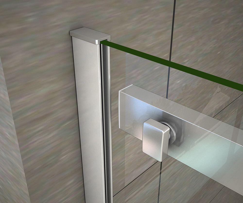 H K - Obdĺžnikový sprchovací kút HARMONY 100x70cm, L / P variant (SE-HARMONY10070)