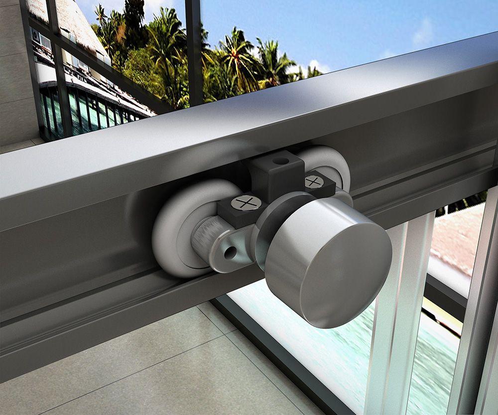 H K - Obdĺžnikový sprchovací kút HARMONY 110x70cm, L / P variant (SE-HARMONY11070)