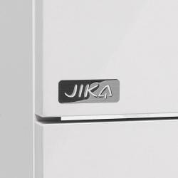 JIKA - Cube Skrinka s umývadlom, 640mmx422mmx607mm – skrinka, korpus biely, čelo zásuvky biele, držadlá čierne (H4536021763001), fotografie 10/8