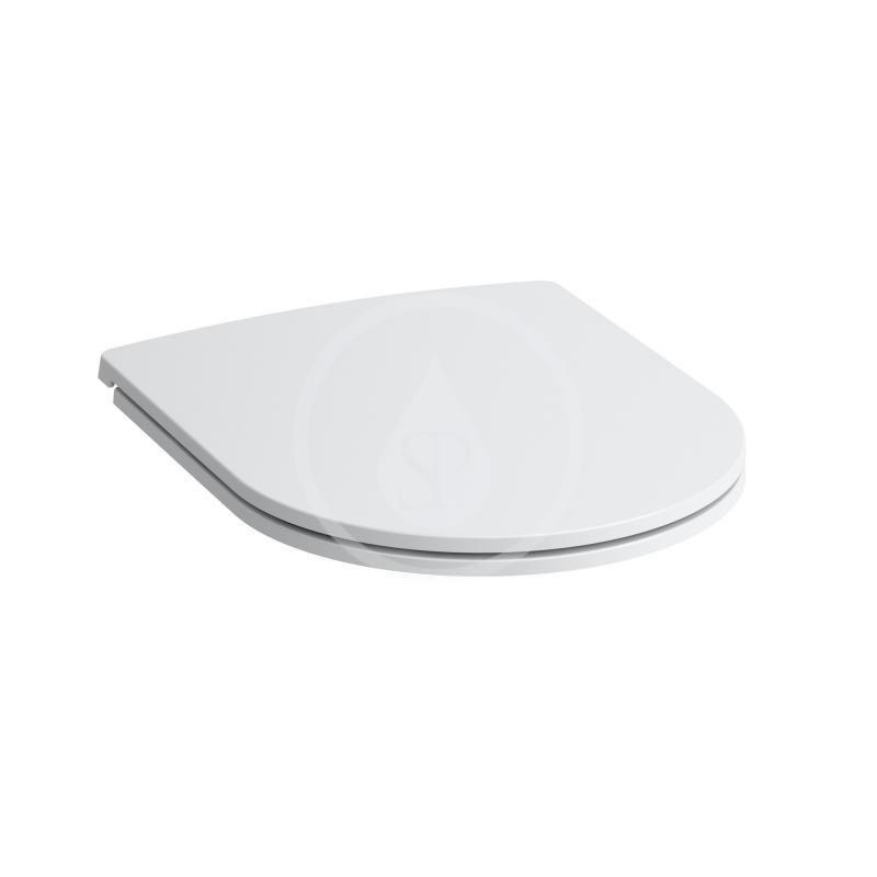 Laufen - Pro Závesné WC so sedadlom Slim, Slowclose, Rimless, biela (H8669570000001)