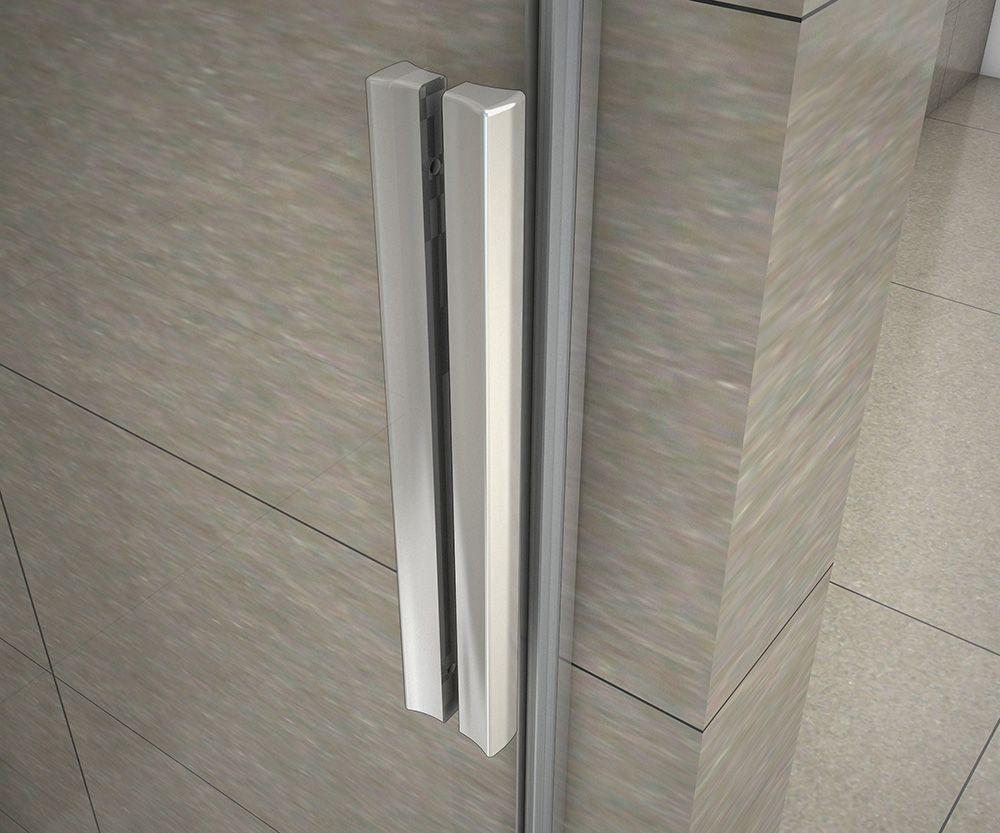 H K - Obdĺžnikový sprchovací kút HARMONY 130x80cm, L / P variant (SE-HARMONY13080)