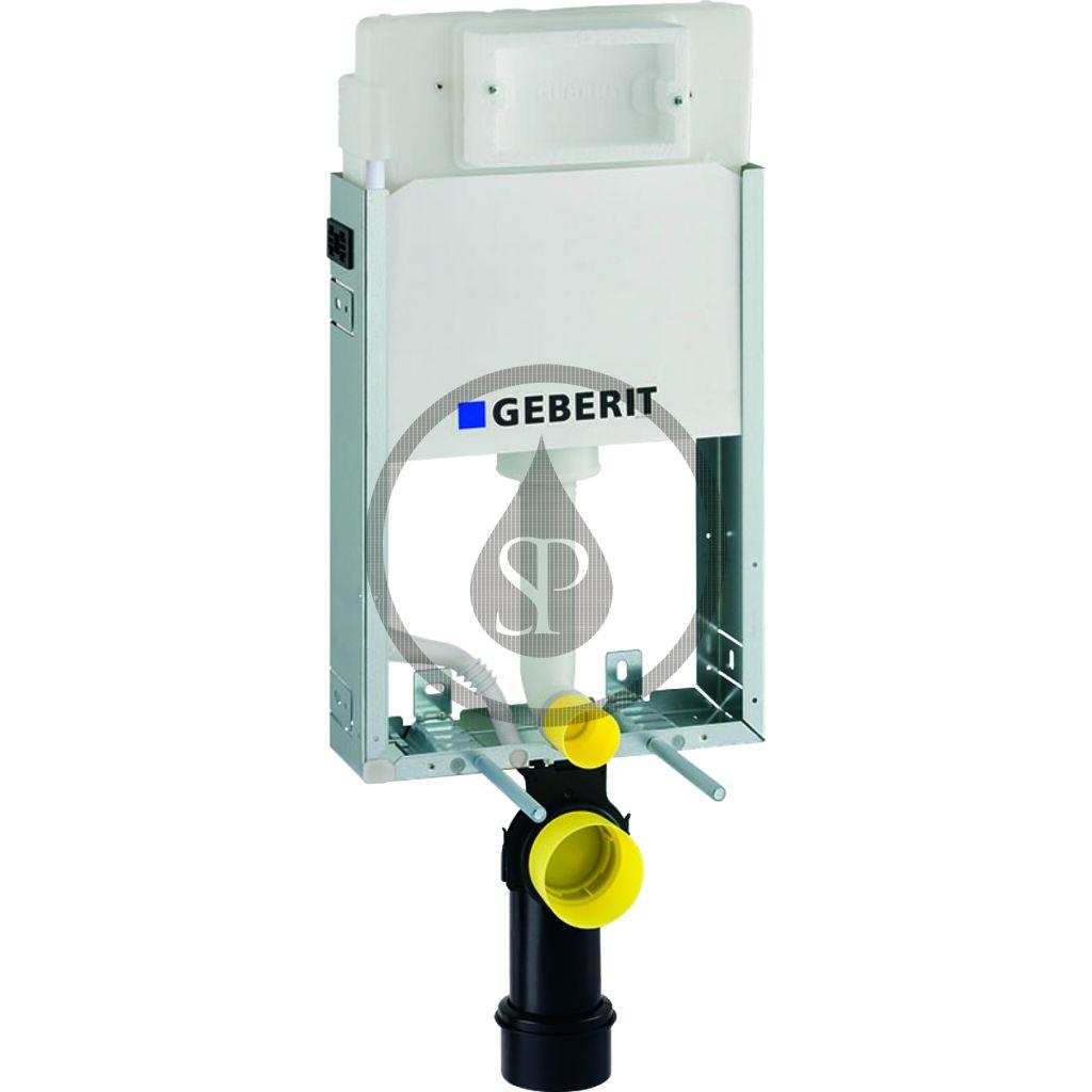 GEBERIT - Kombifix Montážny prvok Basic na závesné WC, 108 cm, splachovacia nádržka pod omietku Delta 12 cm 110.100.00.1