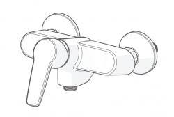 HANSA - Polo Páková sprchová batéria ThermoCool, chróm (51450193), fotografie 4/2