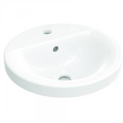 IDEAL STANDARD - Connect Umývadlo zápustné guľaté 380mmx165mmx380mm, biela (E504101)