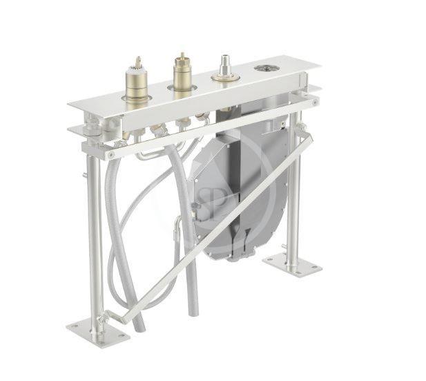 HANSA - Compact Montážne teleso pre vaňovú batériu, 4-otvorová inštalácia 53020300