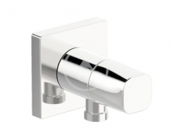 HANSA - Living Sprchové kolienko s uzatváracím ventilom, chróm (51570162)