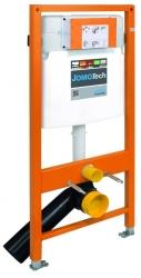 JOMOTech modul pre závesné WC s bielou doskou + WC JIKA TIGO + SEDADLO duraplastu RÝCHLOUPÍNACIE (174-91100900-00 TI1), fotografie 24/13
