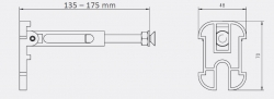 JOMOTech modul pre závesné WC s bielou doskou + WC JIKA TIGO + SEDADLO duraplastu RÝCHLOUPÍNACIE (174-91100900-00 TI1), fotografie 26/13