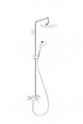 HANSGROHE - Croma Select E Sprchový set Showerpipe 180, 2 prúdy, biela/chróm (27258400)