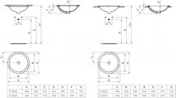 IDEAL STANDARD - Connect Umývadlo pod dosku guľaté 380mmx165mmx380mm, biela (E505201), fotografie 4/4