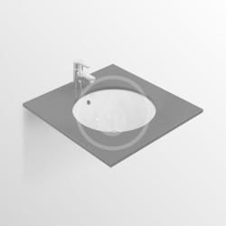 IDEAL STANDARD - Connect Umývadlo pod dosku guľaté 380mmx165mmx380mm, biela (E505201), fotografie 2/4