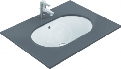 IDEAL STANDARD - Connect Umývadlo pod dosku oválne 620mmx175mmx410mm, biela (E505001)