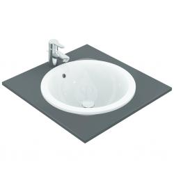 IDEAL STANDARD - Connect Umývadlo zápustné guľaté 480mmx175mmx480mm, biela (E505301)