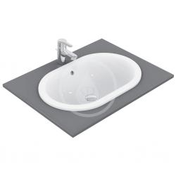 IDEAL STANDARD - Connect Umývadlo zápustné 620x175x410mm, biela (E504901)