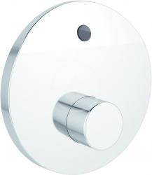 IDEAL STANDARD - CeraPlus Sprchová senzorová batéria pod omietku, regulácia teploty pomocou špeciálneho nástroja (batéria 6 V), chróm (A6157AA)