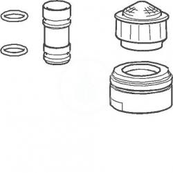HANSA - Příslušenství Dodatočná súprava na vyprázdňovanie výtoku, chróm (59912483)