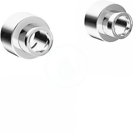 HANSA - Medipro Súprava ružíc a etážok, chróm (02720200)