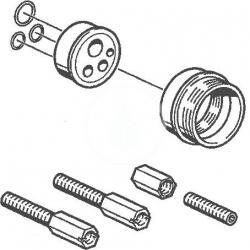 HANSA - Příslušenství Predlžovacia súprava 20 mm na zabudovateľné teleso (59912589)